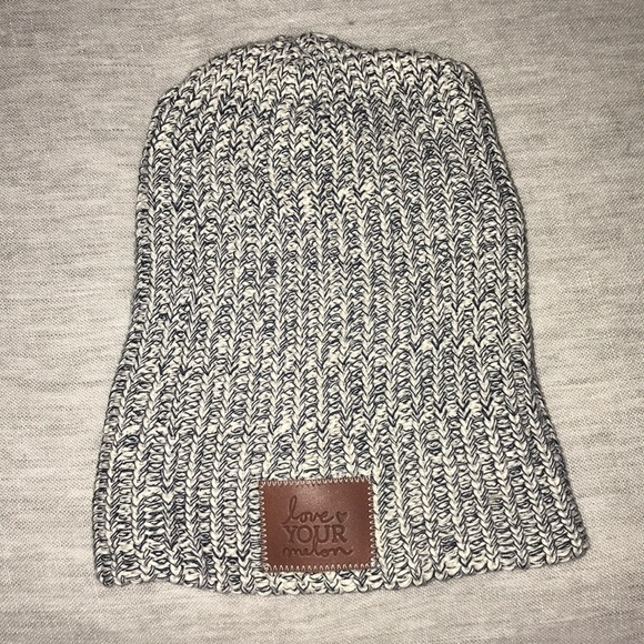c09d7abf9bd Love Your Melon Accessories - Grey Speckled Love Your Melon Beanie